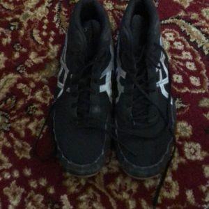 ASICS wrestling shoes men's 11